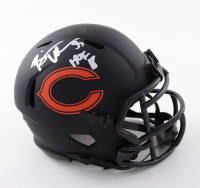 "Brian Urlacher Signed Bears Eclipse Alternate Speed Mini Helmet Inscribed ""HOF 18"" (Beckett Hologram) at PristineAuction.com"