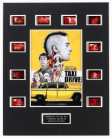 """""""Taxi Driver"""" LE 8x10 Custom Matted Original Film / Movie Cell Display at PristineAuction.com"""