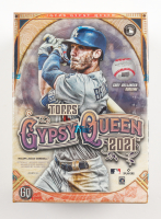 2021 Topps Gypsy Queen Baseball Blaster Box with (7) Packs at PristineAuction.com