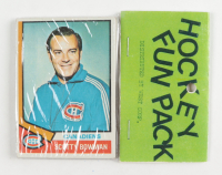 1974-75 Topps Hockey Card Fun Pack with (10) Cards at PristineAuction.com
