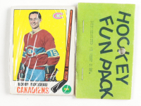1969-70 Topps Hockey Card Fun Pack with (10) Cards at PristineAuction.com