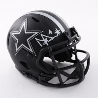 Dak Prescott Signed Cowboys Eclipse Alternate Speed Mini Helmet (Beckett COA) at PristineAuction.com