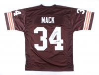 "Kevin Mack Signed Jersey Inscribed ""2x Pro Bowl"" (JSA COA) at PristineAuction.com"