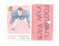 1959 Topps Football Card Fun Pack with (10) Cards at PristineAuction.com