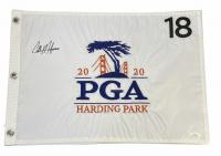 Collin Morikawa Signed 2020 PGA Harding Park Pin Flag (JSA COA) at PristineAuction.com