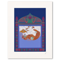 """Erte Signed """"Russian Fairytale"""" Limited Edition 18x23 Serigraph from an AP Edition at PristineAuction.com"""