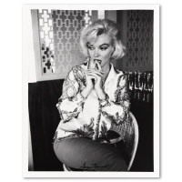 """George Barris Signed """"Marilyn Monroe: The Last Shoot"""" 11x14 Photograph Printed from the Original Negative at PristineAuction.com"""