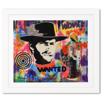 """Nastya Rovenskaya Signed """"Wanted"""" is the Answer"""" 31x27 Custom Framed One-of-a-Kind Mixed Media at PristineAuction.com"""