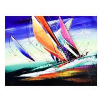 Natalia Sinkovsky Signed 16x20 Original Acrylic Painting on Canvas at PristineAuction.com