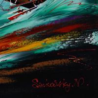 Natalia Sinkovsky Signed 19x19 Original Acrylic Painting on Canvas at PristineAuction.com