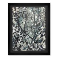 "Wyland Signed ""Splash 7"" 37x30 Custom Framed Original Watercolor Painting at PristineAuction.com"