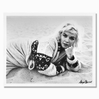 """George Barris Signed """"Marilyn Monroe: The Last Shoot"""" 14x11 Photograph Printed from the Original Negative at PristineAuction.com"""