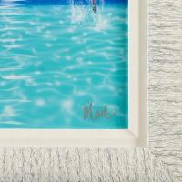 "Dan Mackin Signed ""Follow Me"" 16x19 Custom Framed Original Oil Painting on Canvas at PristineAuction.com"