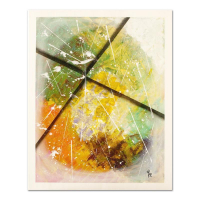 """George Marlowe Signed """"X Marks the Spot"""" 24x30 Original Acrylic Painting on Canvas at PristineAuction.com"""