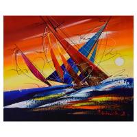 Natalia Sinkovsky Signed 19x15 Original Acrylic Painting on Canvas at PristineAuction.com
