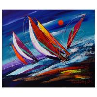 Natalia Sinkovsky Signed 24x20 Original Acrylic Painting on Canvas at PristineAuction.com