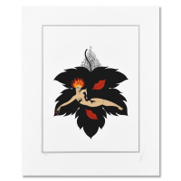 """Erte Signed """"Lust"""" Limited Edition 20x26 Serigraph #133/300 at PristineAuction.com"""