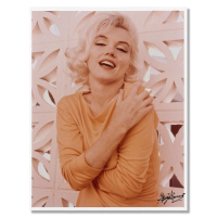 """George Barris Signed """"Marilyn Monroe: The Last Shoot"""" 11x14 Photograph Printed from the Original Negative Inverso #82/99 at PristineAuction.com"""