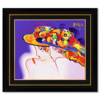 """Peter Max Signed """"Kentucky Oaks"""" 44x39 Custom Framed One-Of-A-Kind Acrylic Mixed Media at PristineAuction.com"""