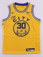 """Stephen Curry Signed Warriors """"City"""" Jersey (JSA COA & Curry COA) at PristineAuction.com"""