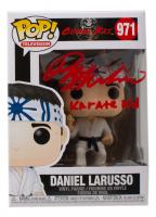 "Ralph Macchio Signed ""Cobra Kai"" #971 Daniel LaRusso Funko Pop! Vinyl Figure Inscribed ""Karate Kid"" (JSA COA) at PristineAuction.com"