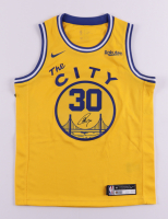 """Stephen Curry Signed Warriors """"The City"""" Jersey (JSA COA & Curry COA) (See Description) at PristineAuction.com"""