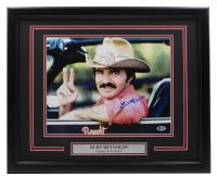 "Burt Reynolds Signed ""Smokey and the Bandit"" 16x20 Custom Framed Photo Display (Beckett COA) at PristineAuction.com"