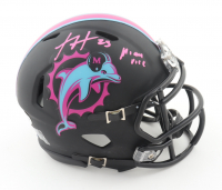 "Xavien Howard Signed Dolphins Custom Speed Mini Helmet Inscribed ""Miami Vice"" (Beckett COA) at PristineAuction.com"