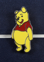 Winnie The Pooh 17x18 Framed 1971 Original Movie Lobby Poster Display With Pooh And Tigger Pin Set at PristineAuction.com