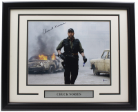 """Chuck Norris Signed """"The Expendables 2"""" 16x20 Custom Framed Photo Display (Beckett COA) at PristineAuction.com"""