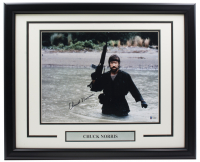 """Chuck Norris Signed """"Missing in Action"""" 16x20 Custom Framed Photo Display (Beckett COA) at PristineAuction.com"""