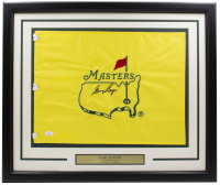 Gary Player Signed The Masters 20x30 Custom Framed Golf Pin Flag (JSA COA) at PristineAuction.com