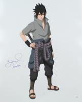 "Yuri Lowenthal Signed ""Naruto: Shippuden"" 16x20 Photo Inscribed ""Sasuke"" (JSA Hologram) (See Description) at PristineAuction.com"