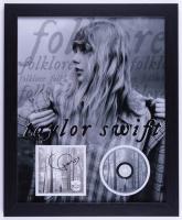 "Taylor Swift Signed 18x22 Custom Framed ""Evermore"" Album Photo Display (JSA Hologram) at PristineAuction.com"