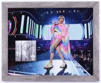 "Taylor Swift Signed 18x22 Custom Framed ""Evermore"" Album Photo Display (JSA Hologram) (See Description) at PristineAuction.com"