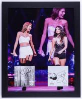 Taylor Swift & Selena Gomez Signed 18x22 Custom Framed Album Photo Display (JSA Hologram) (See Description) at PristineAuction.com