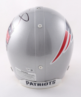 Tom Brady Signed Patriots 6-Time Super Bowl Champions Logo Full-Size Authentic On-Field Helmet (Fanatics Hologram) at PristineAuction.com