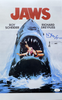 "Richard Dreyfuss Signed ""Jaws"" 11x17 Turkish Poster (JSA COA) at PristineAuction.com"