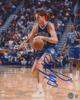 Christian Laettner Signed Timberwolves 8x10 Photo (Beckett COA) at PristineAuction.com