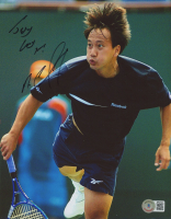 Michael Chang Signed 8x10 Photo (Beckett COA) at PristineAuction.com