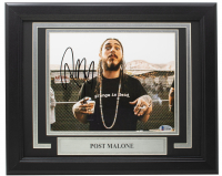 Post Malone Signed 11x14 Custom Framed Photo (Beckett COA) at PristineAuction.com