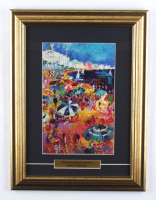 """LeRoy Neiman """"The Beach at Cannes"""" 13x17 Custom Framed Print at PristineAuction.com"""