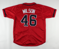 Bryse Wilson Signed Jersey (PSA Hologram) at PristineAuction.com