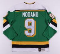 "Mike Modano Signed North Stars Jersey Inscribed ""HOF 2014"" (COJO COA) at PristineAuction.com"