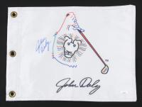John Daly Signed Pin Flag (JSA COA) at PristineAuction.com