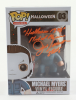 "Jim Winburn Signed ""Halloween"" #3 Michael Myers Funko Pop! Vinyl Figure Inscribed ""Michael Myers"", ""Halloween 1978"", & ""Stunts"" (Legends COA) (See Description) at PristineAuction.com"