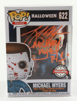 """Tony Moran Signed """"Halloween"""" #622 Special Edition Michael Myers Funko Pop! Vinyl Figure Inscribed """"Michael Myers H1"""" (Legends COA) (See Description) at PristineAuction.com"""