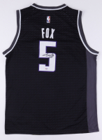 De'Aaron Fox Signed Kings Jersey (PSA Hologram) at PristineAuction.com