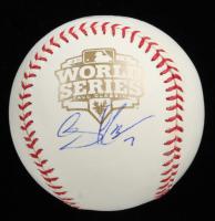 Gregor Blanco Signed 2012 World Series Logo Baseball (PSA Hologram) at PristineAuction.com