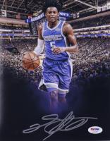 De'Aaron Fox Signed Kings 8x10 Photo (PSA Hologram) at PristineAuction.com
